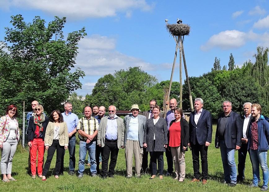 Ausschuss besuchte Storchenhof Loburg