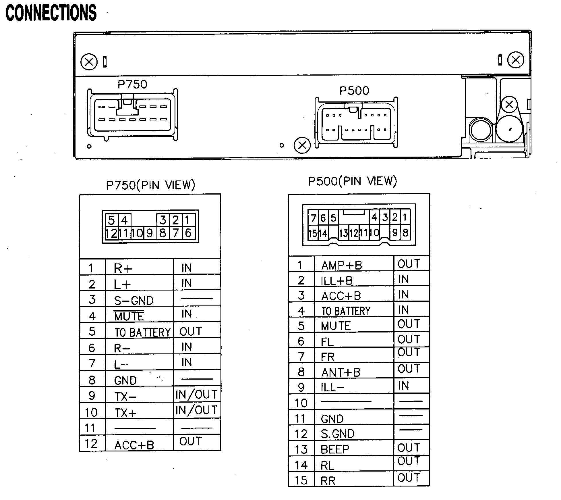 Stereo Diagram Car Wiring Jvcr840bt Circuit Symbols Bose Subwoofer Free Download For Rh Xwiaw Us Speaker Ford Diagrams
