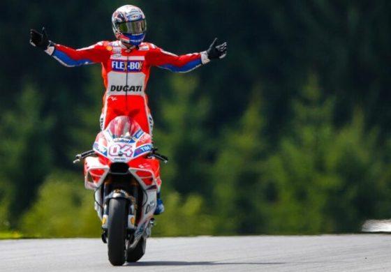 Dovizioso vence e lidera o mundial de MotoGP