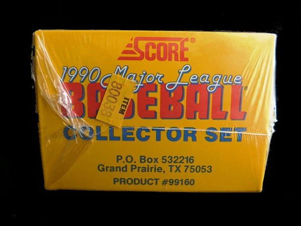 Collectible Score MLB Baseball Trading Cards: 1990 Score Collector Set