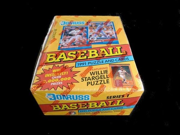 Collectible Baseball Trading Cards: 1991 DONRUSS Collector Set