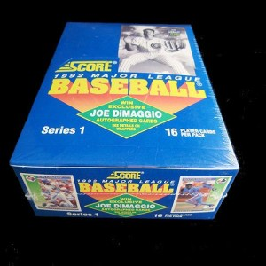 Collectible 1992 Score MLB Trading Cards: 1992 Score MLB Trading Cards