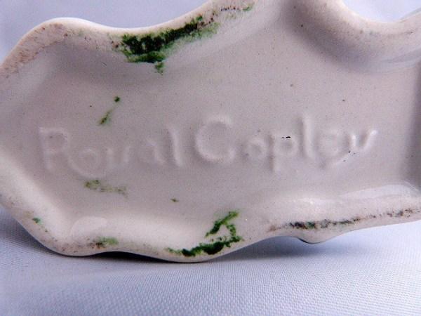 Royal Copley Parakeet Bud Vase