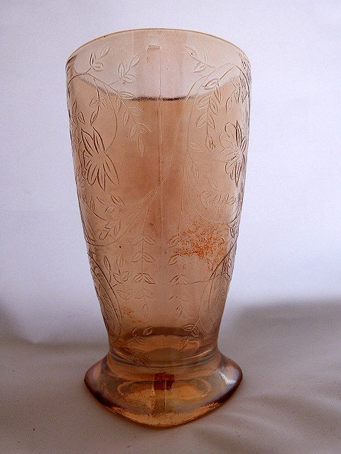 Footed Tumbler- Louisa by Jeannette Glass