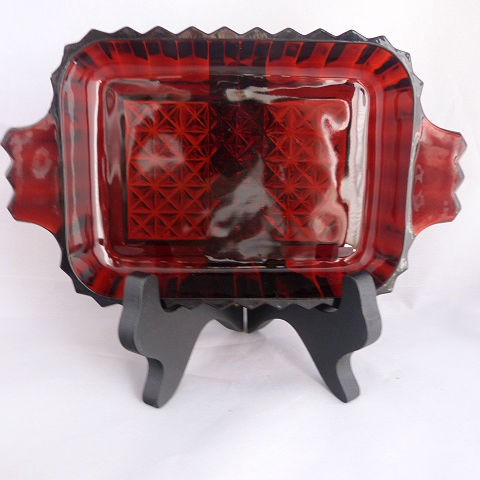 Royal Ruby Rectangular dish by Anchor Hocking