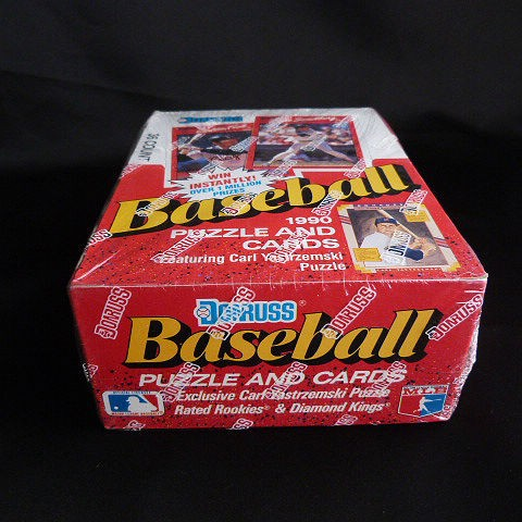 1990 Donruss Baseball Puzzle and Trading Cards
