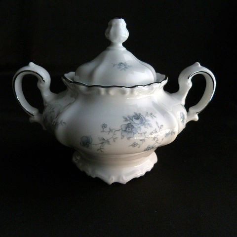 Johann Haviland Sugar Bowl and Creamer