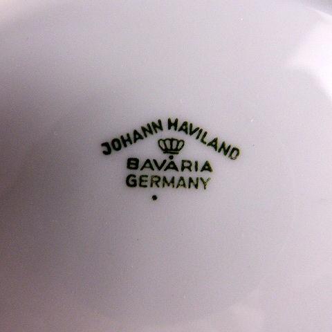 Johann Haviland Gravy Boat and Dish