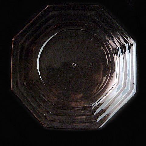 Pink Depression Glass Salad Plate