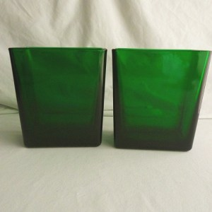 Emerald Green Vases