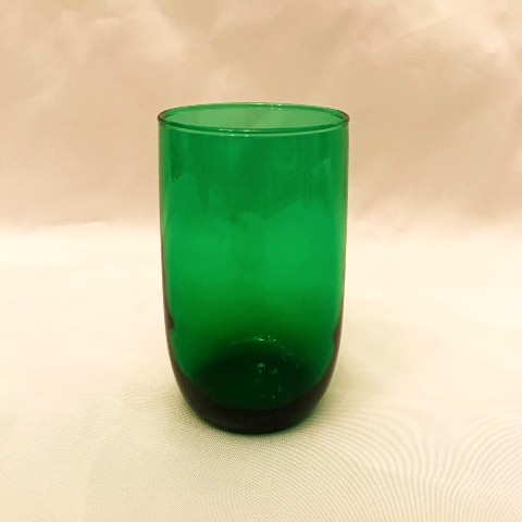Forest Green Glassware
