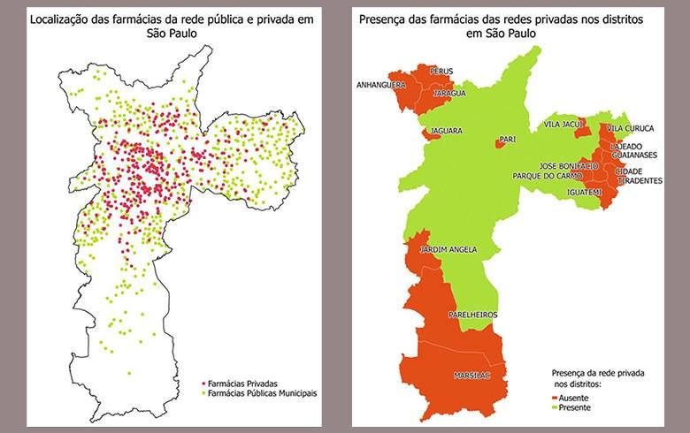 Estudante de geografia mostra como Dória prejudica os mais pobres com fim das farmácias nas UBSs