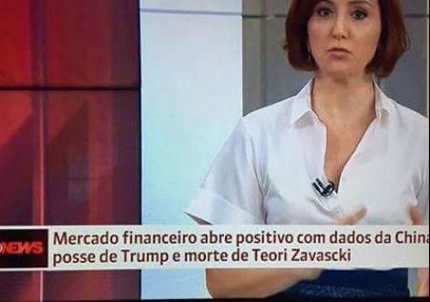 Para Globo e mercado financeiro, a morte Teori Zavascki foi boa para a economia
