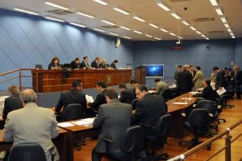 Plenário da Câmara de Vereadores