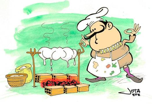 Francisco Martínez Montiño. Cocinero de manteca.