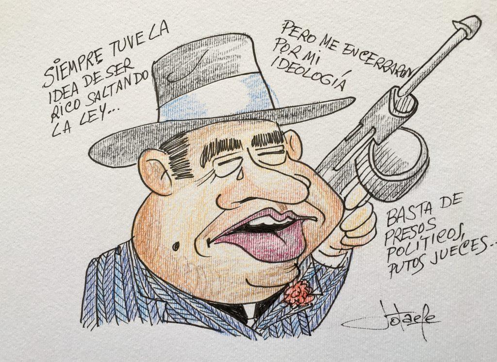 Caricatura Al Capone
