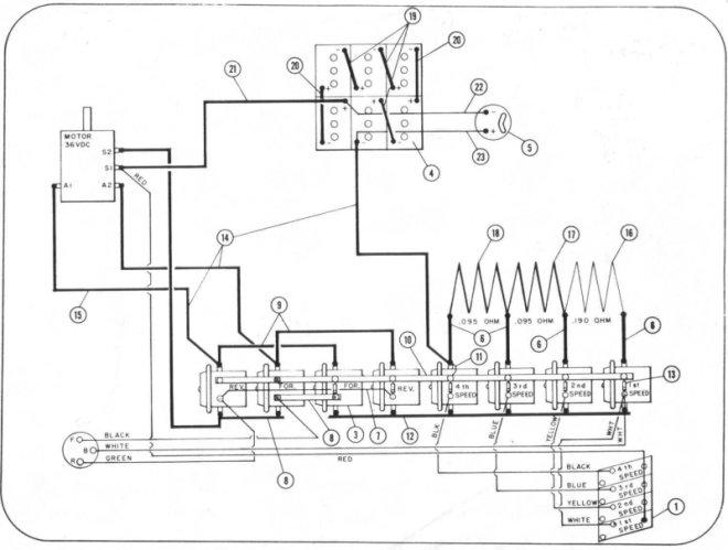 Pargo Golf Cart Wiring Diagram - 8 Solenoids