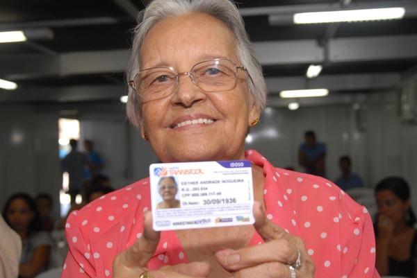 Cartão do Idoso em São Leopoldo - RS