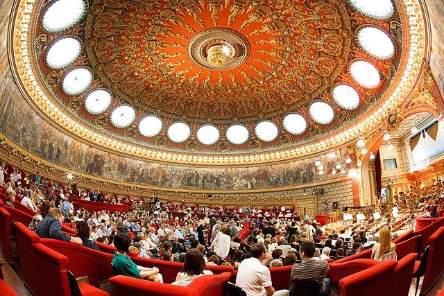 Ateneul Român - sala principal. Todos os direitos a Mihai Petre