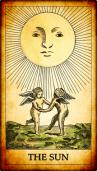 El Sol Tarot y el Péndulo de cuarzo transparente