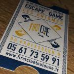 First Clue, Les Énigmes du Professeur Ô Toulouse