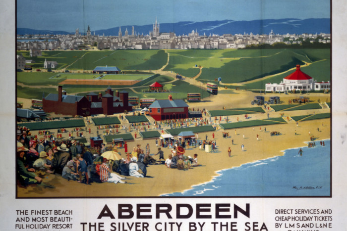 Aberdeen was touted as the most beautiful holiday resort in Britain by rail companies between 1923 and 1947 | PIC National Railway Museum.