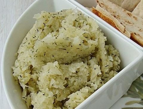 salata de conopida cu marar si usturoi