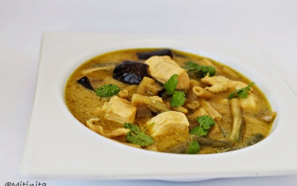 Curry verde thailandez