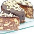 tort de biscuiti cu glazura