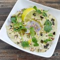 Hummus cu coriandru si lime