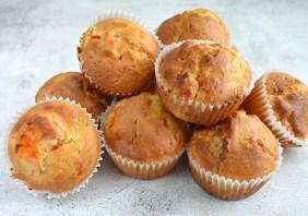 muffins cu caise