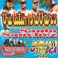viernes 09 de diciembre de 2016: THE LATIN BROTHERS #tlapan #t'quilas