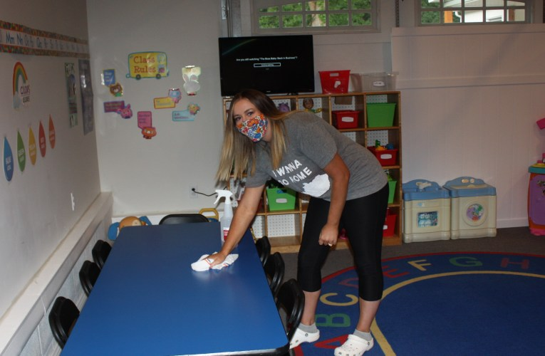 Keeping kids COVID safe: Carter Childcare and Early Learning Center takes steps to sanitize and separate