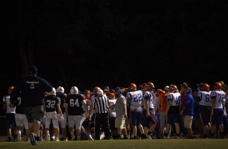 East wins over Tolsia in contentious matchup: Officials end game in third quarter