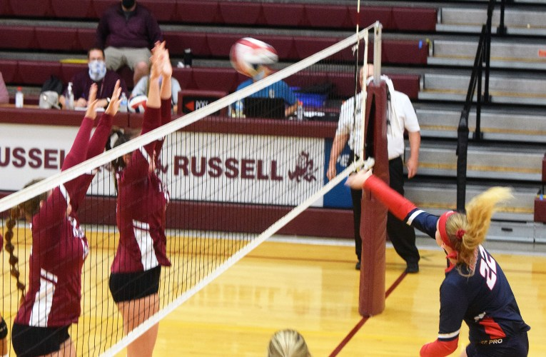 Red Devils win over Lady Raiders in volleyball action