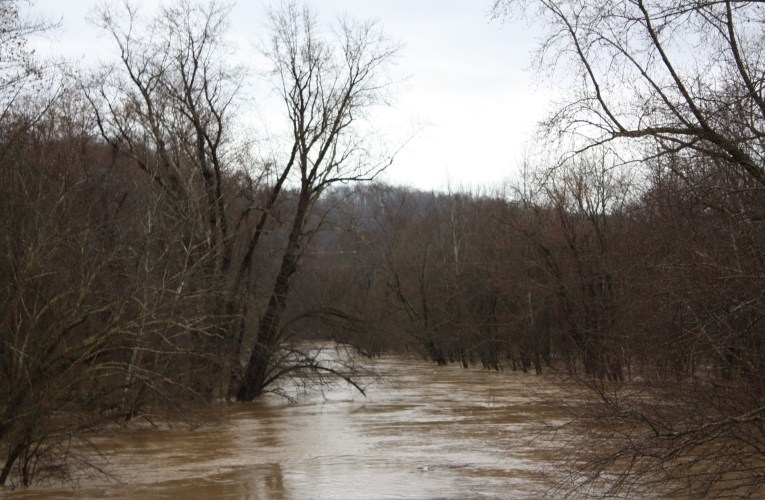 Flooding follows ice and snow: East end hard hit by rising waters along the Little Sandy and tributaries