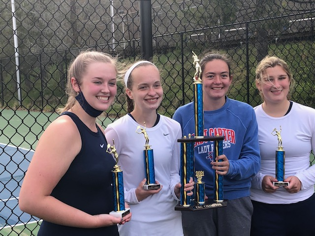 East Carter takes home EKC accolades: Win team championship, singles and doubles trophies