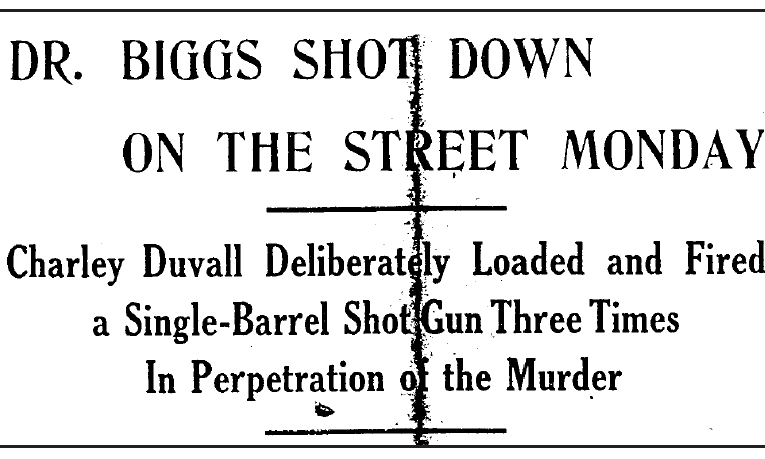 Uncle Jack Fultz's Memories of Carter County: Biggs murder rocked Olive Hill