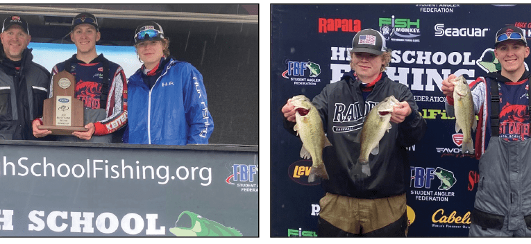 East Carter advances to state bass fishing tournament