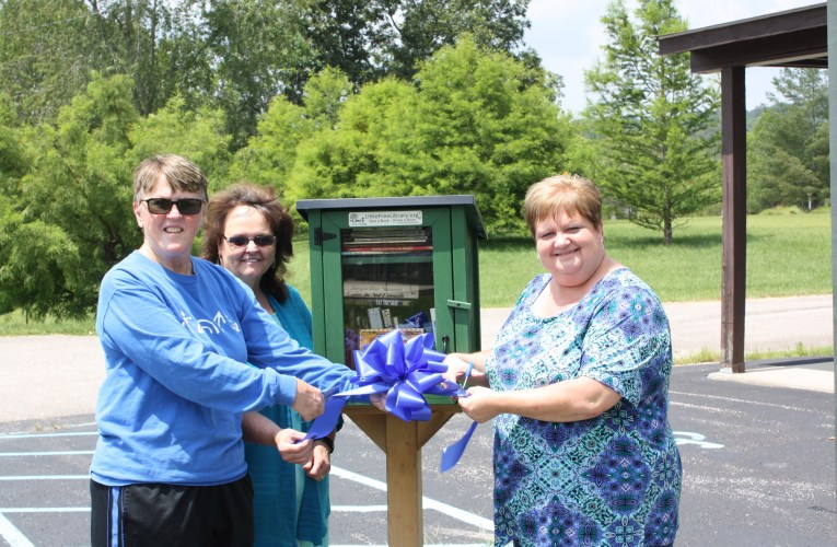 Adventures in reading: Stamper cuts ribbon on second Little Free Library