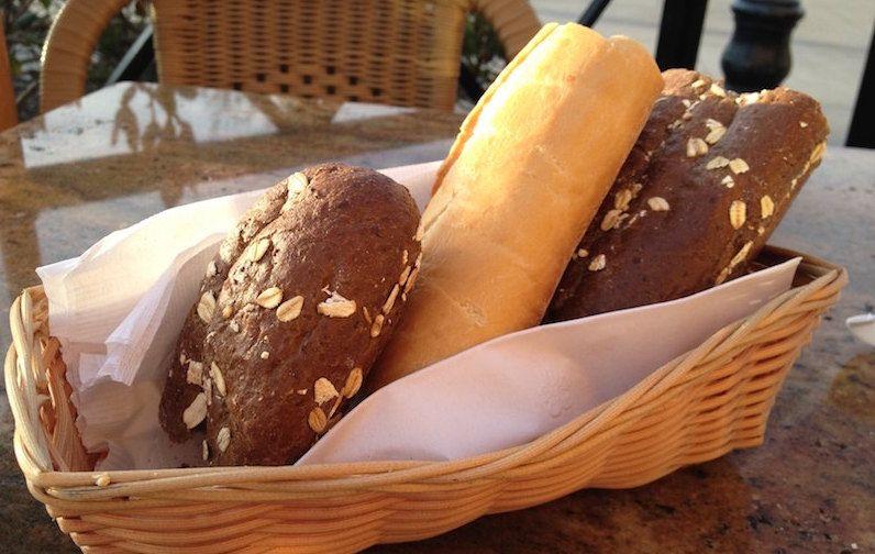 Cheesecake Factory. Pumpernickel Bread. Enough Said.