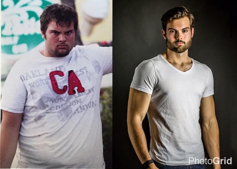 Before & After Studio Shot