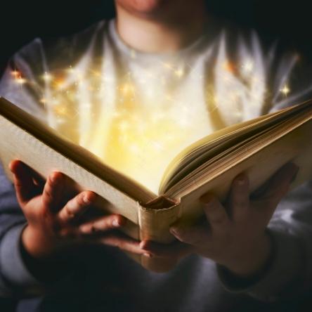 magic book folklore art stories