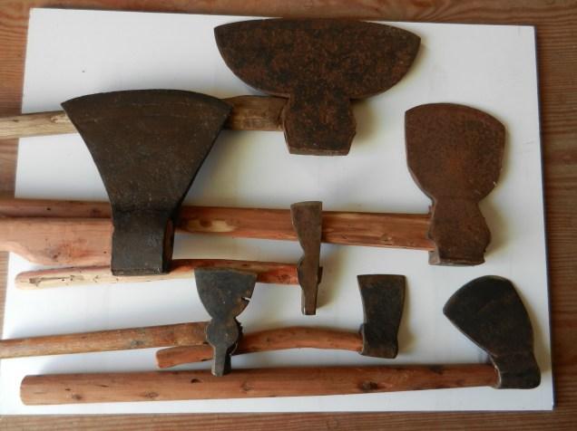 Array of axes