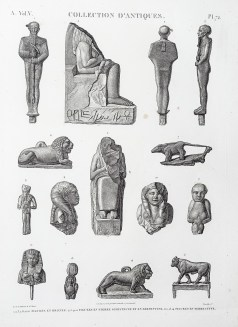 Description de l'Egypte ; Collection d'Antiques