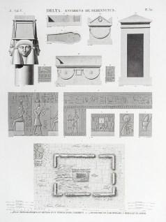 Description de l'Egypte; Temple d'Isis
