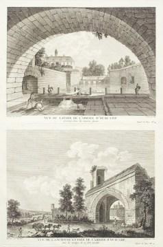 Gravure ancienne de l'Abbaye d'Ourcamp