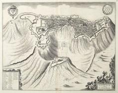 Gravure ancienne de Laon
