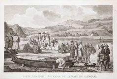 Gravure de la Baie de l'Angle - La Pérouse