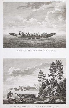 Gravure du Port des français - La Pérouse